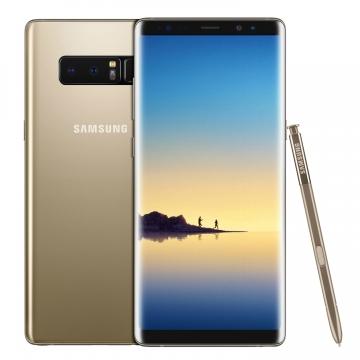 Samsung Galaxy Note 8 N950FD (EU Version) 6GB Ram 64GB Dual Sim SIM FREE/ UNLOCKED - Maple Gold £642.99 @ Eglobalcentral