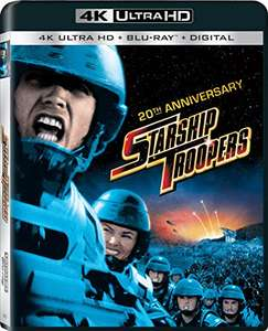 Starship Troopers 4K Blu Ray - £12.75 delivered @ Amazon US