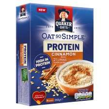 Quaker Oat So Simple Protein Cinnamon Porridge 8Pack 46G Also Original Available - £1 @ Tesco RRP £2.59