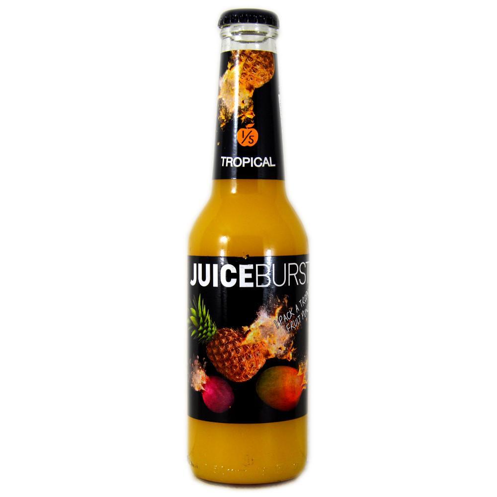 Juice Burst 275ml bottles 25p or 5 for £1 @Heronfoods **INSTORE**