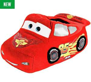 Disney Cars Red Novelty Slippers now just £7.49  @ Argos