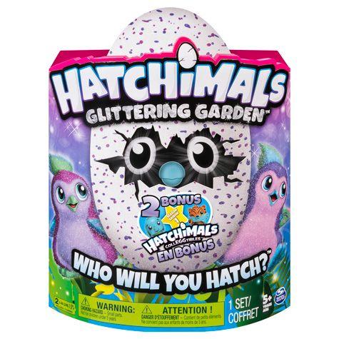 NEW version Hatchimals Glittering Garden + 2 BONUS Colleggtible Figures (5+ Years) £52.99 @ Costco  (FREE delivery)
