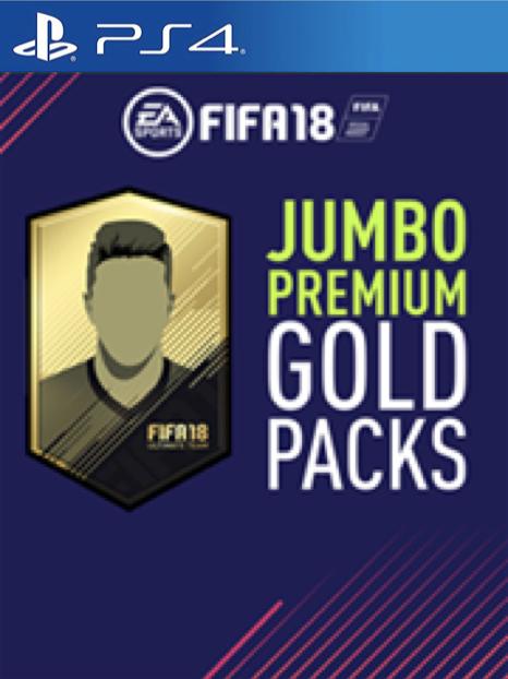 FIFA 18 - PS4 - 5 Jumbo Ultimate team premium packs - £1.49 - CDkeys