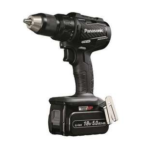 Panasonic EY79A2LJ2G31 Brushless Dual-Voltage Combi Drill + 2 x 18v 5ah Batteries, Charger £227.96 @ Anglia tool center