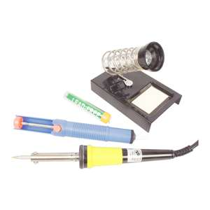 40W Soldering Kit Solder Iron Station now £9.99 delivered @ eBay / Maplin