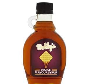 Bobby's Maple Flavour Syrup 250g £1 @ Iceland