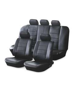 AutoXS Leather Look Car Seat Covers £19.99 @ Aldi