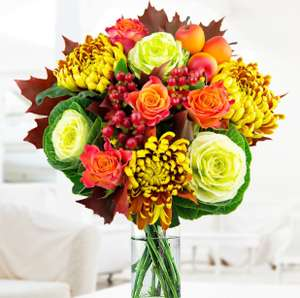 Autumn Attraction Flowers - £19.99 @ Prestige Flowers (with free delivery code)