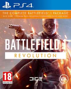 Battlefield 1 Revolution PS4/Xbox One (Base game + Premium Pass, Expansion packs & more) £34.50 @ Coolshop
