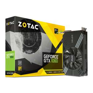 ZOTAC Nvidia GeForce GTX 1060 6GB only £224.50 @ Amazon.it