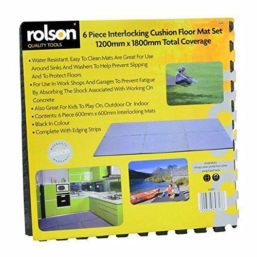 Rolson 60817 Floor Mat Set, 120 x 180 cm - 6 Pieces £6.50(prime) £15.80 (non prime)  @ Amazon