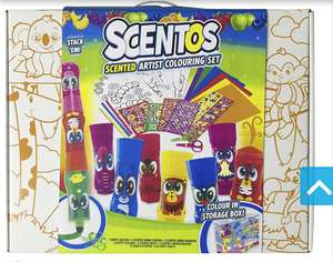 Scentos little artist colouring set Tesco (Instore) - £5