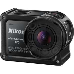 Nikon KeyMission 170 4K Action Camera@ Toby deals - £159.99