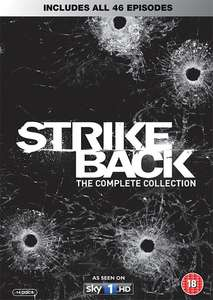 Strike Back: Series 1-5 (Box Set) [DVD] £17.99 including free delivery using code SIGNUP10 @ zoom.co.uk