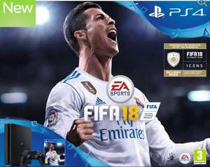 Playstation 4, 500gb with Fifa 18 £199.99 at Currys PC World