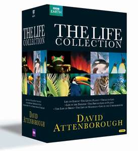 David Attenborough: The Life Collection (Box Set) [DVD] £26.99 with free delivery using code SIGNUP10 @ zoom.co.uk