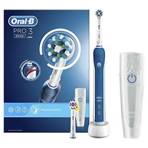 Oral-B Pro 3 3000 Cross Action Electric Rechargeable Toothbrush £34.99 @ Amazon
