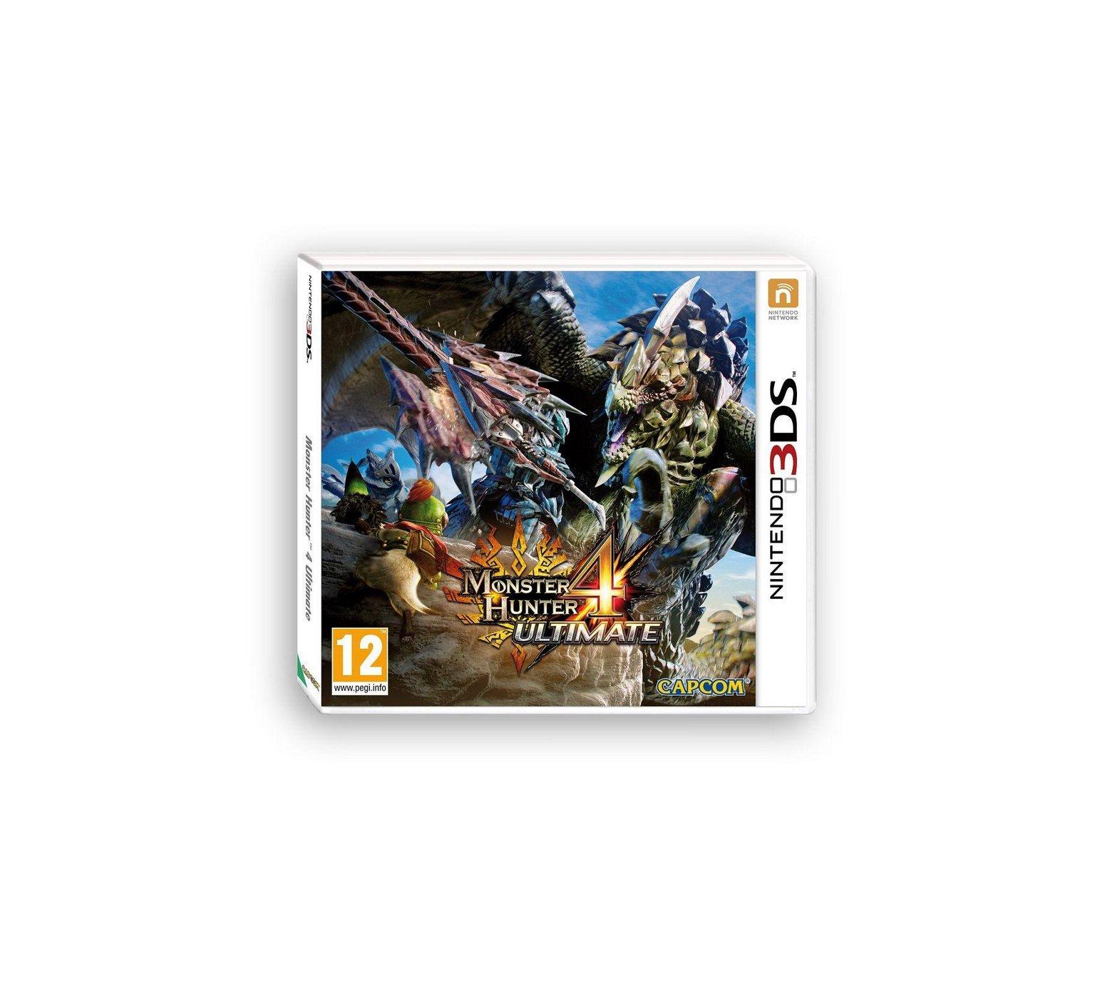 Monster Hunter 4 Ultimate (3DS) for £24.99 - Argos