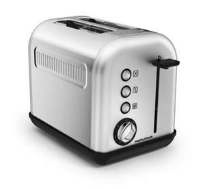 Morphy Richards 222006 Accents 2-Slice Toaster, 850 W, Brushed Stainless Steel £13.97 (Prime) / £18.72 (non Prime) at Amazon