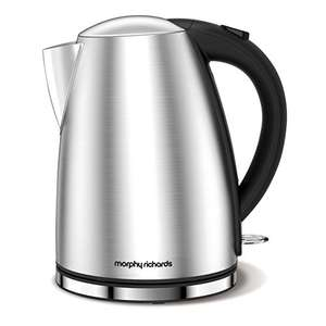 Morphy Richards 103005 Accents Jug Kettle - Silver £15.98 (Prime) / £20.73 (non Prime) at Amazon