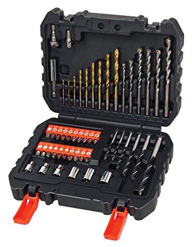 Black + Decker A7188 Drill and Screwdriver Bit Set 50-Piece £10 (Prime) / £14.75 (non Prime) at Amazon
