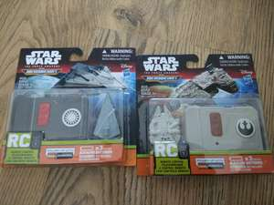 Radio controlled star wars millennium falcon & star destroyer £1.99 instore at home bargains