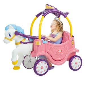 Little Tikes Princess Horse and Carriage Coupe now £73.08 @ Toys R Us