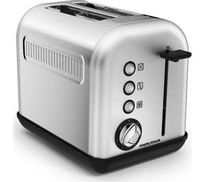 Morphy Richards 222006 Accents 2-Slice Toaster, 850 W, Brushed Stainless Steel - was £23.99 now £13.97 @ Currys / Amazon (Prime)