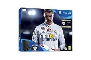 PlayStation FIFA 18 1 TB PS4 Bundle with FIFA 18 Ultimate Team Icons and Rare Player Pack & extra DuelShock 4 wireless controller - £229.99 @ Amazon