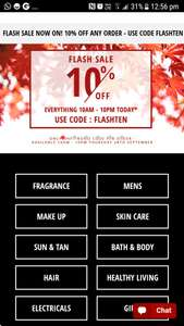 Fragrance Direct 10% off until 10pm tonight