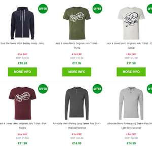 Zavvi any 4 items for £40 jumpers, shoes, shirts, hoodies etc
