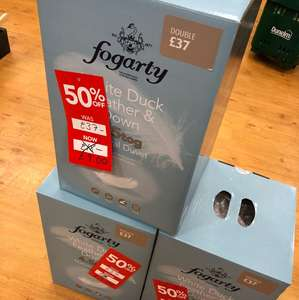 Fogarty Feather & Down double Duvet £9 - Dunelm Mill instore  Shoreham