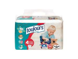 Toujours Size 4 Maxi Nappies (48 packs) £2.49 @ Lidl