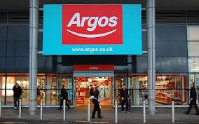 Free £5 voucher on £50 purchase till 08 October in New Argos in Sainsbury's Alperton London