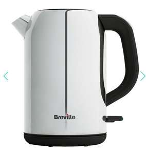 Breville - Outline polished stainless steel jug kettle VKJ983 RRP £45.00 reduced to £13.50 @ Debenhams