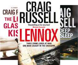 Lennox Series (5 books) - Craig Russell - Kindle download £4.95