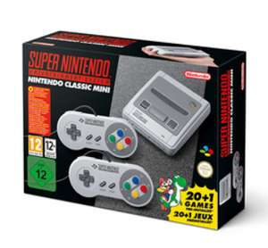 Nintendo Classic Mini: Super Nintendo Entertainment System SNES Console £79.99 @ Game