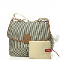 Babymel Satchel Change Bag - Navy Stripe £24 @ Boots