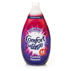 Comfort Intense Fuschia Passion (64 Washes = 960g) Half Price was £5.00 now £2.50 @ Waitrose