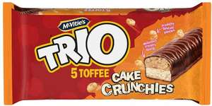 McVitie's Trio 5 Toffee Cake Crunchies was £1.50 now 75p @ Iceland