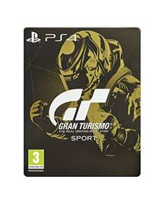Gran Turismo Sport PS4 - Steelbook £49.99 @ Amazon