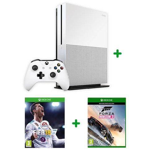 Xbox One S 500GB Forza Horizon Bundle & FIFA 18 £199.99 @ Smyths