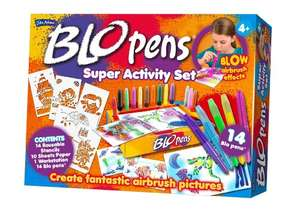 IT'S BACK!! - Blopens Super Activity Workshop usually £29.99 £9.99 Prime Exclusive @ Amazon