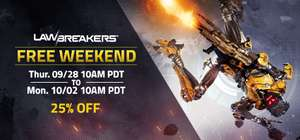 [Steam] LawBreakers Free Weekend 28th Sept-2nd Oct @ Steam