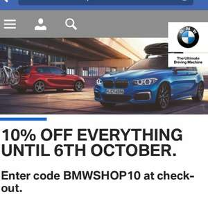 10% OFF BMW SHOP