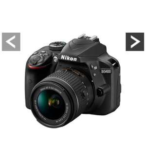 Nikon D3400 DSLR Camera 18-55mm VR lens Model free delivery ( Very Low Price ) £358.98 Saving £75 with Voucher code LWPMV  @ Very
