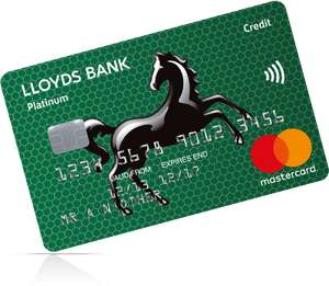 Lloyds low rate credit card 5.7% APR