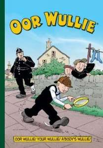 The Broons and Oor Wullie 2018 Annuals £3.99 each, Oor Wullie & The Broons Through the Ages 2018 Special £6.49 with free C&C @ WHSmith
