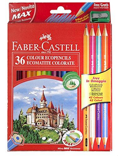Faber-Castell 110336 Coloured Pencil (39 Pieces) £10.28 (Prime) / £14.27 (non Prime) at Amazon