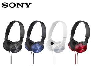 Sony ZX310 Foldable Headphones - Black, Red, White or Blue only £10.99 @ Argos (Free R&C)